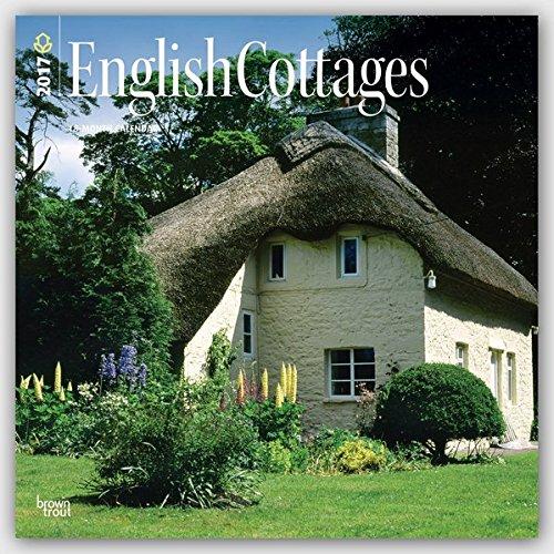 English Cottages - Englische Landhäuser 2017 - 18-Monatskalender: Original BrownTrout-Kalender (Square Wall)