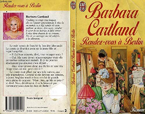 Rendez-vous à Berlin par Barbara Cartland