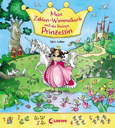 Mein Zahlen-Wimmelbuch mit der kleinen Prinzessin