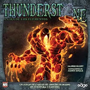 Edge Entertainment- Thunderstone la ira de los Elementos - español, Color (EDGTS02)