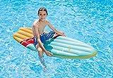 Surfer - Surfbrett - Wellenreiter - Surfboard - Aufblasbar Surfbrett - Luftmatratze - Größe ca 178 x 69 cm - Badespaß für Kinder / aufblasbarer Surfer / Kinderbadeartikel / aufblasbare Badetiere / aufblasbare Badeartikel für Kinder / der ideale Badespass für Schwimmbad , See , Strand oder Bade Urlaub (bunt)
