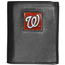MLB Washington Nationals Leather Tri-fold Wallet