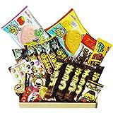 Chocolat Dagashi Box 20pcs Umaibo Snack avec AKIBA KING Autocollant Bonbon japonais