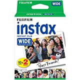 Fujifilm instax Colorfilm WIDE Instant Film, Glossy, ISO 800, 2 x 10 Foto's