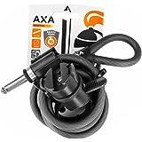 AXA Unisex - volwassenen Newton 150 fietsslot, zwart, één maat