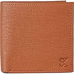 Styler King Men Tan Artificial Leather Wallet��(6 Card Slots)