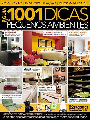 Guia 1001 Dicas para Pequenos Ambientes 02 (Portuguese Edition) por On Line Editora