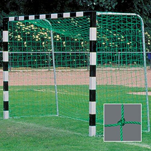 Handballtornetz / Kleinfeld 3,1 x 2,1 m Tiefe oben 0,80 / unten 1,00 m, PE 4 mm ø, grün