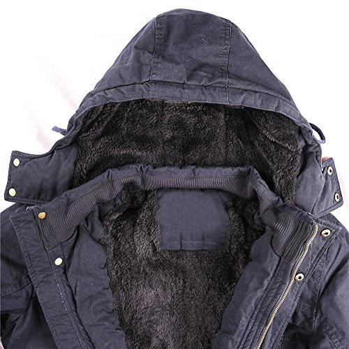 Parka TTLIFE con capucha para hombre