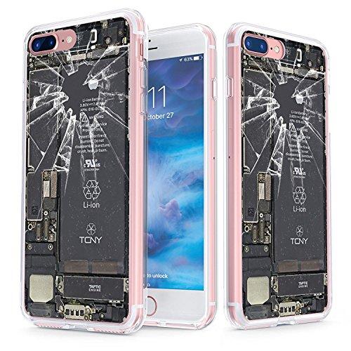 True Color claro escudo Broken iPhone colección, Broken iPhone, For iPhone 7 Plus