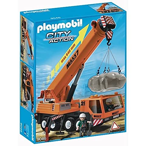 Playmobil Camion Benne - Playmobil - 9046 - Grue Mobile