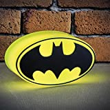 DC Comics - Mini lampada a forma di logo di Batman, multicolore