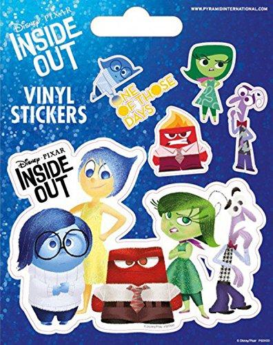 eht Kopf - One Of Those Days, 5 Vinyl Sticker Poster-Sticker Tattoo Aufkleber 12 x 10 cm (Pixar Tattoo)