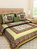 Vie Loom Double Bedsheet 100% Cotton By Vie Loom Double Bedsheet King Size By Vie Loom