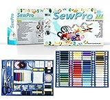 SewPro - 373-teiliges alles-in-einem Luxus-Näh-Set mit verschiedenen Fäden