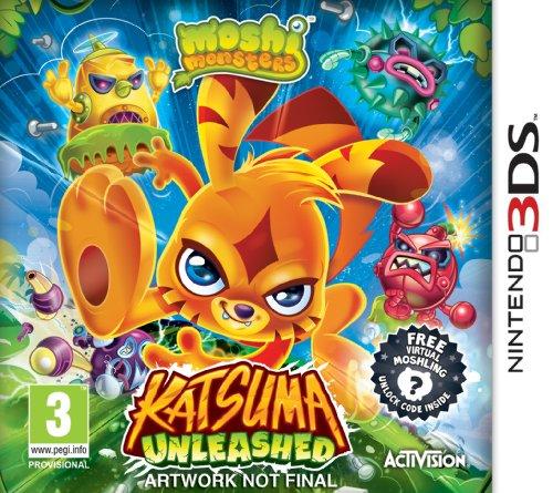 Moshi Monsters: Katsuma Unleashed (Nintendo 3DS)