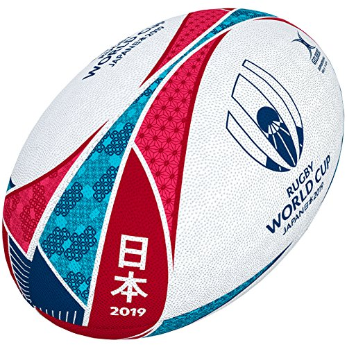 Gilbert RWC 2019 Supporter Balón, Unisex, 5