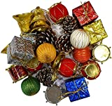 #9: Gifts Online Big Size Christmas Tree Decorations Assorted - 27 Pieces
