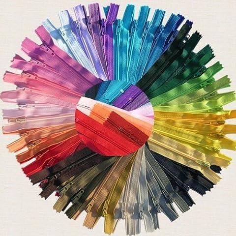 zipperstop Wholesale YKK 3vestido de faldas y cremalleras Cremalleras (7~ surtido de colores