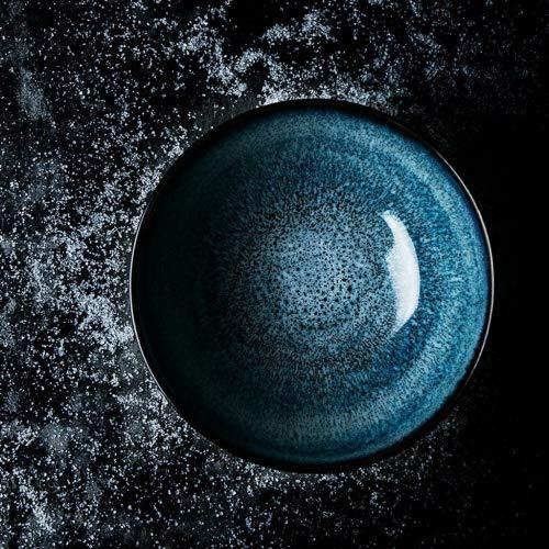 Creative Ceramic Bowl Home Geschirr Salat Ramen Suppe Schüssel Geschirr Schüssel Obst Platte