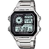 ساعة كابليرو الرقمية للجنسين من كاسيو موديل AE-1200WHD 1AVDF