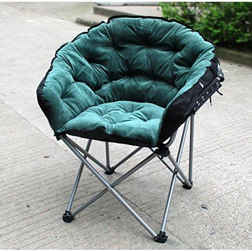QIDI Chaise Longue Simple en Métal Pliable 58 * 58 * 100cm (Couleur : Style 2)
