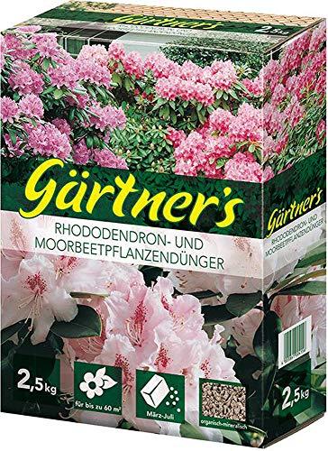 Format 4005861004156–rhododendrondñnger 2.5kg. Org. -mineral. NPK dñnger 8+ 3+ 5+ 2