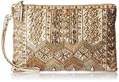 Accessorize Women's Clutch (Gold)