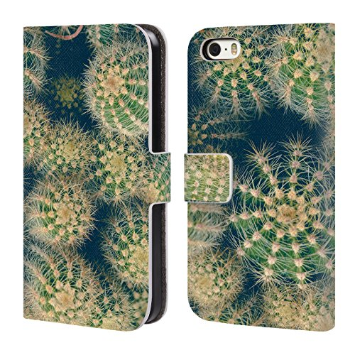 official-olivia-joy-stclaire-cactus-tropical-leather-book-wallet-case-cover-for-apple-iphone-5-5s-se