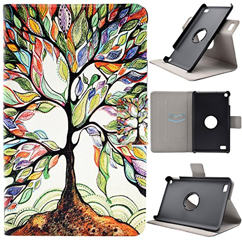 kindle-fire-7-2015-kindle-fire-hd-7-funda-tapa-case-cover-asnlove-carcasa-de-cuero-giratoria-360-gra