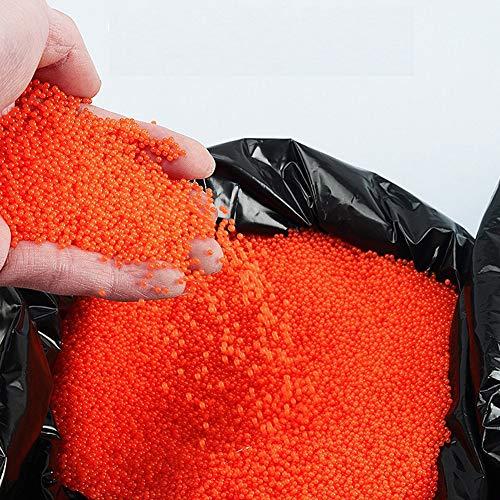 ZHENDUO 7-8mm Bolas de Gel Bolas de Cristal de Paintball Bolas de Agua para Toy Gun 2.2lb (Naranja)
