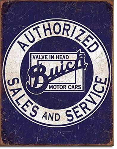 tin-sign-buick-authorized-sales-and-service