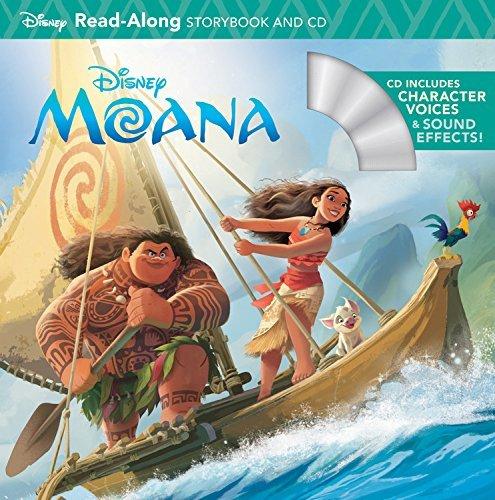 Moana Read-Along Storybook & CD (Read-Along Storybook and CD) (2016-10-04)