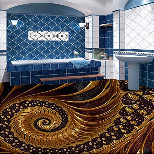 Kuamai Benutzerdefinierte Wohnzimmer Schlafzimmer 3D Stereo Wand Selbstklebende Hotel Halle Einkaufszentrum Bodentapete-450X300cm