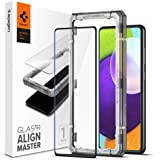 Spigen AlignMaster Screenprotector compatibel met Samsung Galaxy A52 5G, Galaxy A52 4G, Galaxy A52s 5G, Frame voor eenvoudige