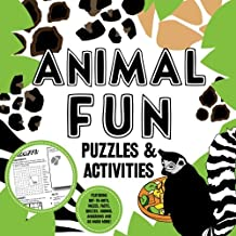 Animal Fun Puzzles & Activities