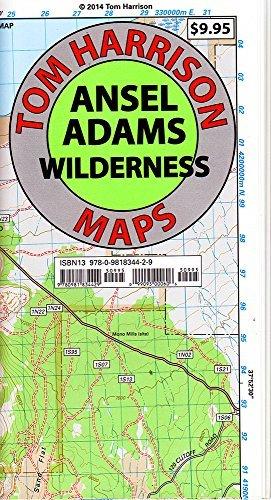 Ansel Adams Wilderness Trail Map (Tom Harrison Maps) by Tom Harrison Maps (2010-05-01)