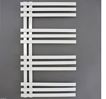 Ayran Badheizkörper Heizkörper Handtuchwärmer Designheizkörper Badezimmer  Heizung Weiss (50x120 Cm)
