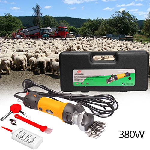 Iglobalbuy 380 W Eléctrico oveja SCH eremachine oveja