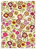i.stHOME Klebefolie Möbelfolie Fleur - Blumen bunt - Dekorfolie 45x200 cm - Selbstklebende Folie - Moderne Selbstklebefolie - Bastelfolie