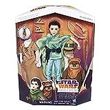 Hasbro Star Wars C1631EU4 - Die Mächte des Schicksals 11 Zoll Lea und Ewok Action Puppen, Spielset