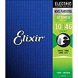 Elixir 19052Light revêtu Cordes pour guitare électrique
