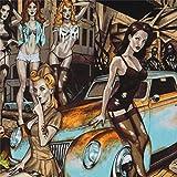 Stoff mit Zombiefrauen Halloween von Alexander Henry