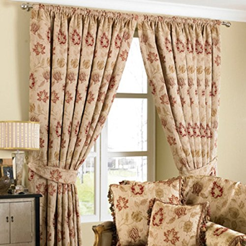 zurich-floral-pencil-pleat-chenille-jacquard-fully-lined-ready-made-curtains-polyester-cotton-beige-
