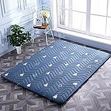 Nclon Ergonomie Einfach Schlafen Tatami-matten,Zusammenklappbar Matratze Boden Matratze Mat ist -Verdicken - Wald 120x200cm(47x79inch)