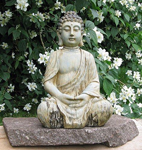 Figura de Buda, escultura de Buda, Jardín Buda meditando, Feng Shui 5