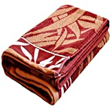 Bath Towel (Weavers Villa Crystal Design Soft Jacquard Design Full Size Bath Towels (Size: 30 X 60 Inches))