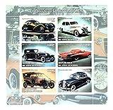 Francobolli Classic Car da Collezione - auto d'epoca - 6 francobolli - Unmounted e unhinged - Stampbank - amazon.it