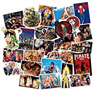 Top-Tech Waterproof Anime Stickers Laptop/suitcase/Water Bottle/Car Decals (one pi 200pcs)