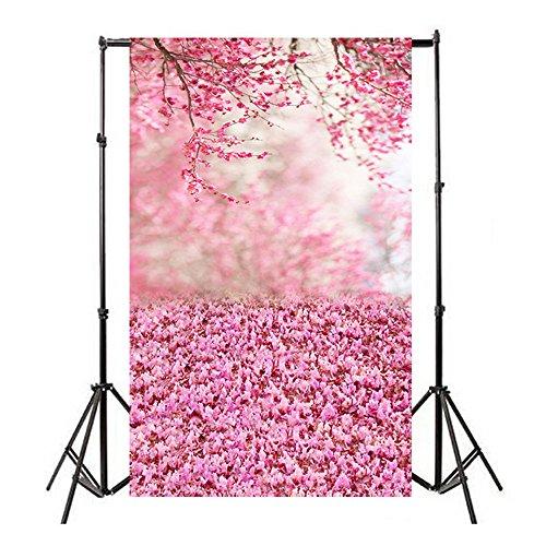 TianranRT Studio Studio Hintergrund Tuch Vinyl Holz Wand Boden Fotografie Studio Requisite Hintergrund Hintergrund 3x5FT D (D) -